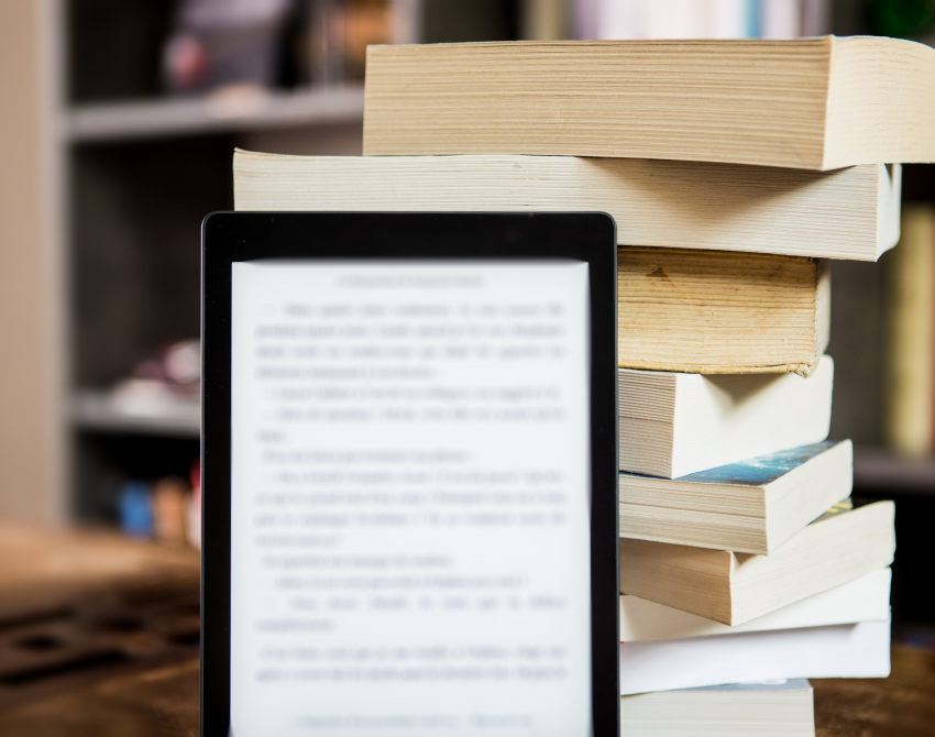 E-Bookreader-Bücher